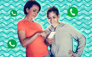11 mães no WhatsApp que poderiam MUITO ser a sua