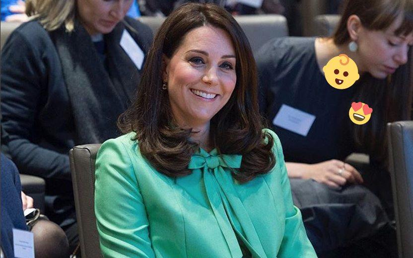 terceiro filho de Kate Middleton