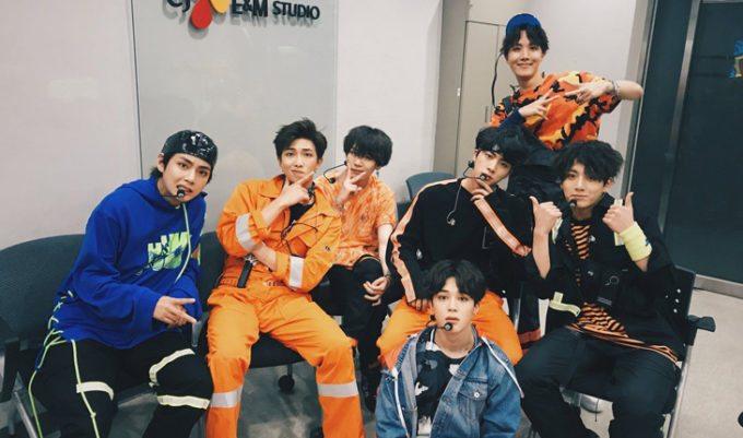 comeback show do bts