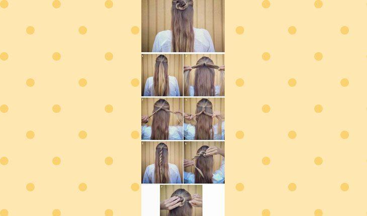 penteados dia a dia