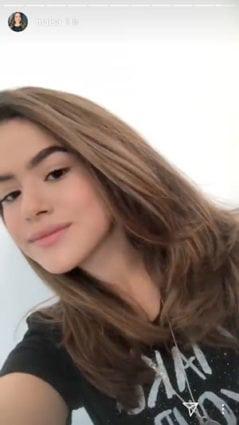 corte de cabelo de maisa