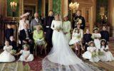Família real reunida no casamento do Príncipe Harry com Meghan Markle