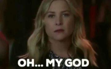 Oh My God! último episódio de grey's anatomy