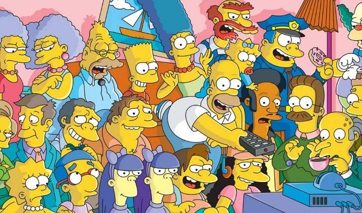 Personagens da animação Os Simpsons