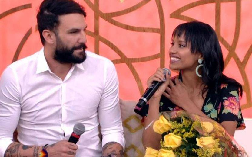 wagner e gleici do bbb 18