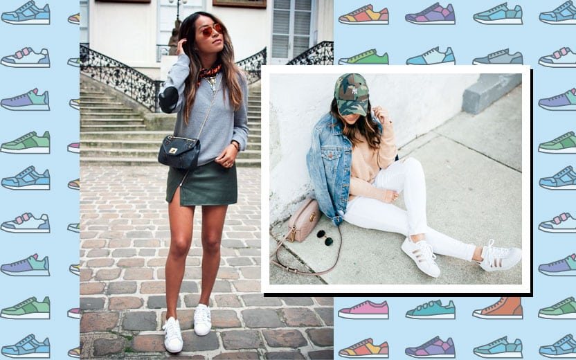 looks com adidas superstar