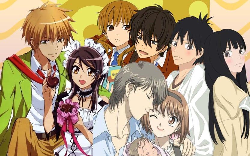 10 Animes Romanticos Para Se Apaixonar Com As Historias