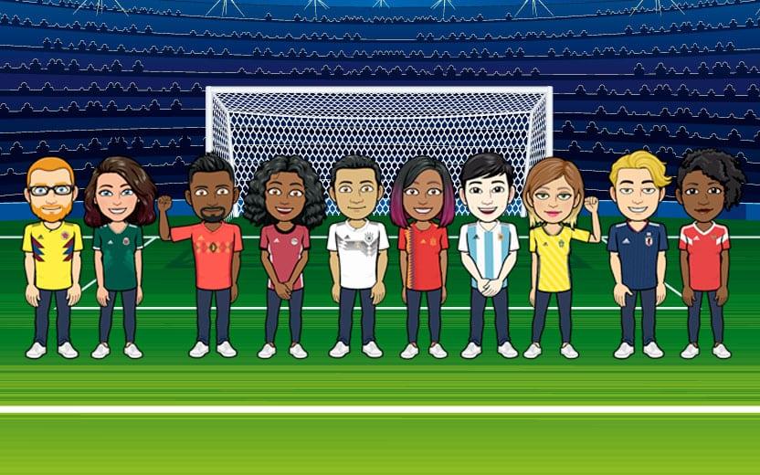 Bitmoji da Copa