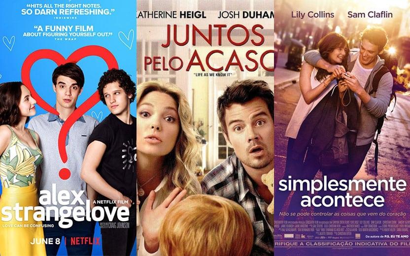 comédias românticas na Netflix