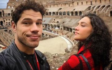 José Loreto falou sobre a filha com Débora Nascimento