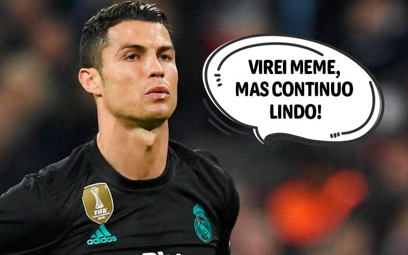 90ccd53025 Os melhores memes do Cristiano Ronaldo se achando lindo