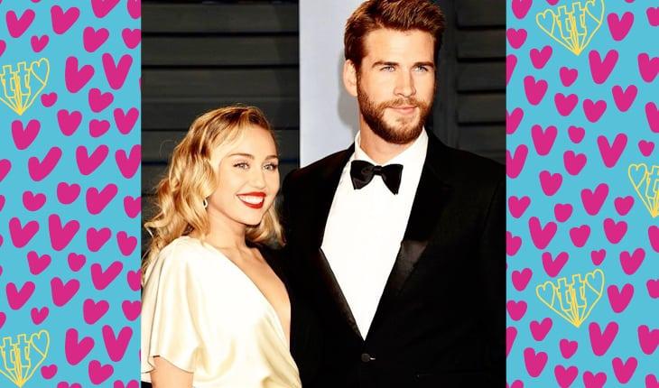 2783a0e820c77 Miley Cyrus e Liam Hemsworth são a prova de que às vezes é bom dar um  tempo