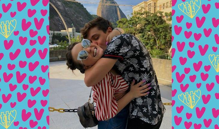 7ff3d354d2544 Larissa Manoela beija João Guilherme em As Aventuras de Poliana