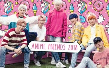 Blanc7 no Anime Friends 2018