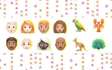 emoji de cabelo cacheado