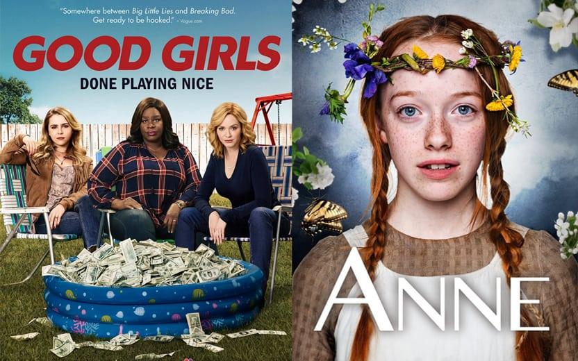 Filmes e séries mais assistidos na Netflix