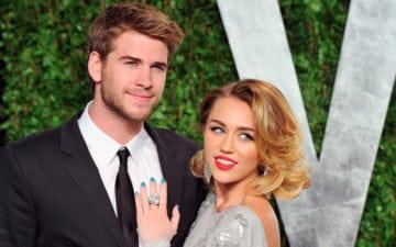 Relacionamento de Miley Cyrus e Liam Hemsworth está em crise