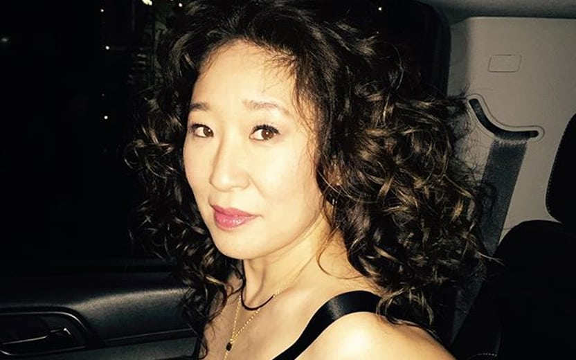 Emmy de Melhor Atriz Sandra Oh