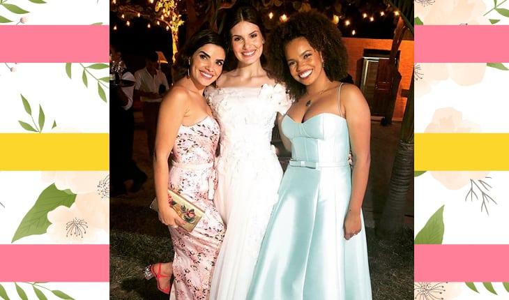 Vanessa Giácomo, Camila Queiroz e Jennifer Nascimento