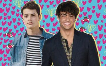 duelo de gatos seu crush de para todos os garotos que já amei: Israel Broussard ou Noah Centineo?