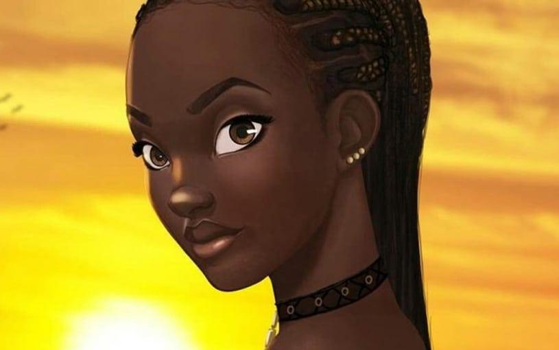 primeira princesa africana da Disney