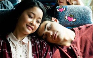 Fatos de Para Todos Os Garotos que já amei: Lara Jean e Peter Kavinsky no ônibus