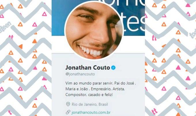 Perfil do Insta do Jonathan Couto (caso Jonathan Couto e Madah)