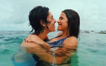 Maisa e Nicholas Arashiro arrasam com fantasia de casal mega fofa. não estar namorando