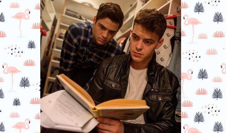 diferenças entre o livro e o filme de para todos os garotos