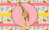 Pose do bebê girafa