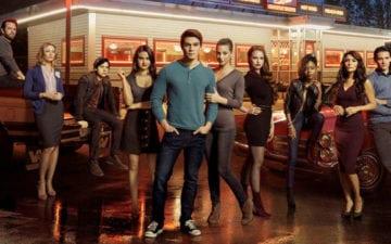 Novo pôster de Riverdale. atores de Riverdale brigam