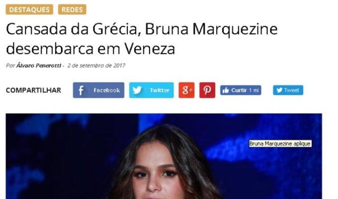 Bruna Marquezine Leonina