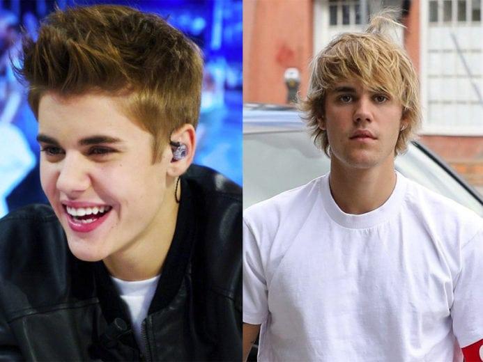 Justin Bieber versão antiga ou atual?