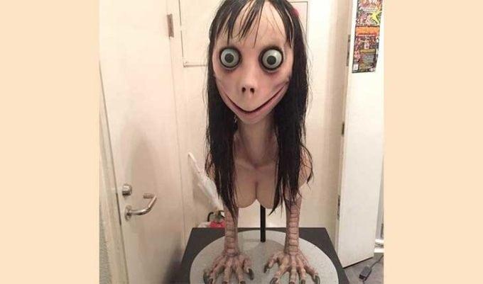 desafio da boneca momo