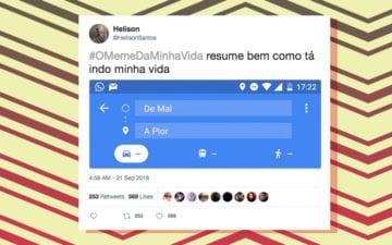 Melhores tweets de #OMemeDaMinhaVida