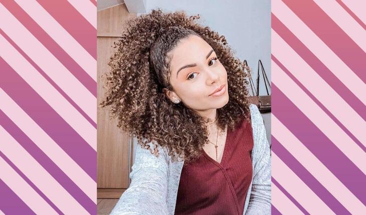 penteados para cabelos cacheados longos