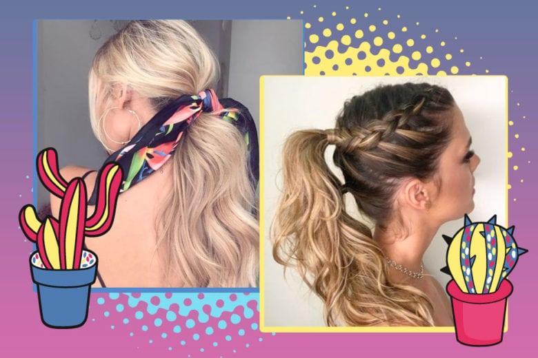 penteados com rabo de cavalo