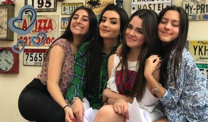 Meninas do Quartetop