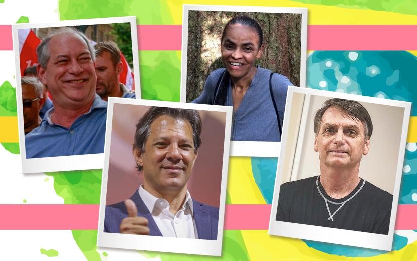 candidatos à presidência em 2018