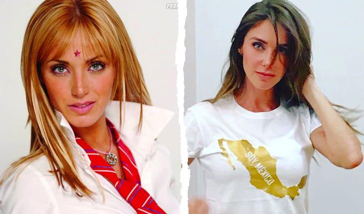 Antes e depois Anahí