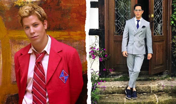 Antes e depois Christian Chavez