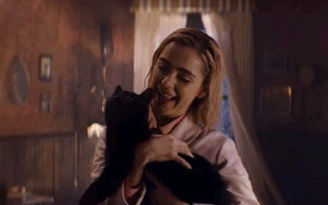 Descobrimos uma curiosidade mara sobre o gato de O Mundo Sombrio de Sabrina