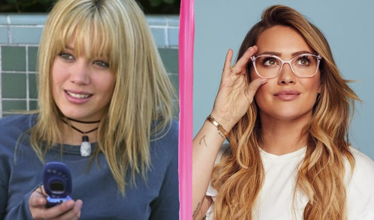 Antes e depois do elenco de A Nova Cinderela