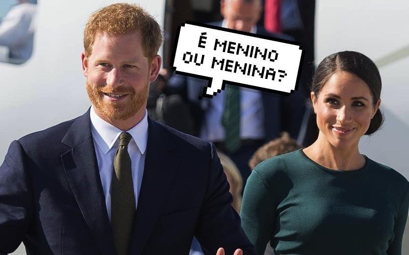 Meghan e Príncipe Harry terão um bebê