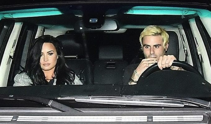 Henry Levy e Demi Lovato