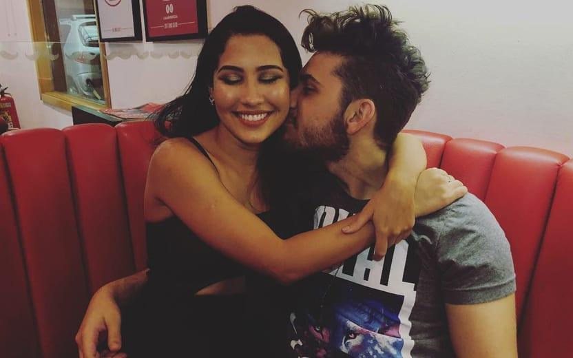 primeiro beijo de Thaynara OG e Gustavo Mioto