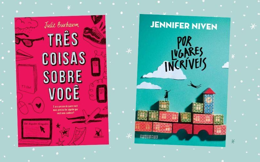 12 livros de romance adolescente para ler nas férias