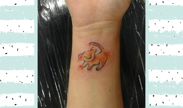 Tatuagem rei leão