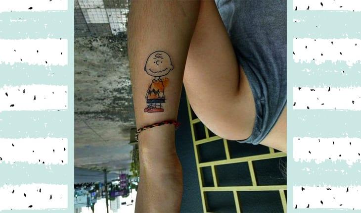 Tatuagem de Charlie Brown