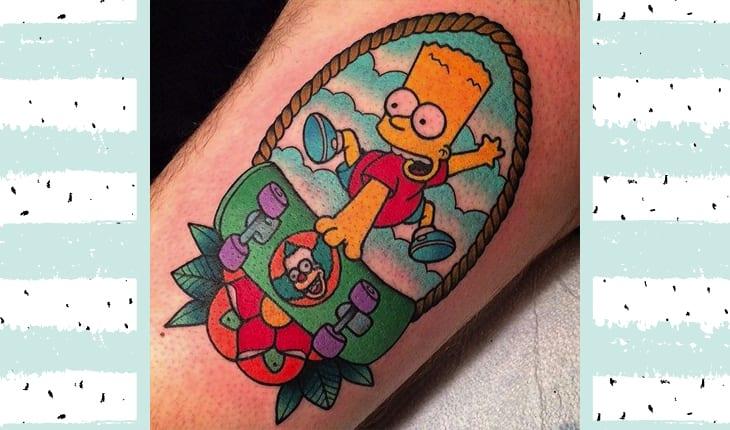 Tatuagem do Bart